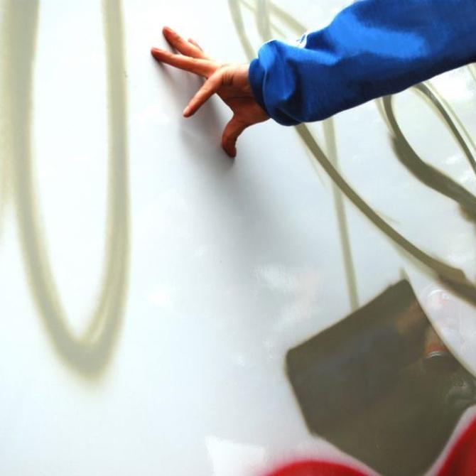 Cómo limpiar grafitis