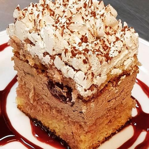 Restaurantes en Santander : Tarta de Chocolate y Cerezas