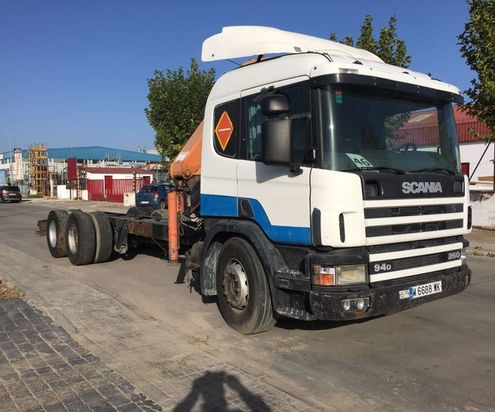 SCANIA 94L 260: Vehículos industriales de Emirtrucks Trading