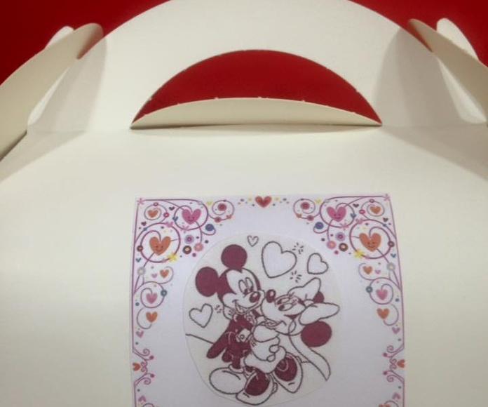 Empaquetado para regalos: Productos y servicios de Dulces PK2