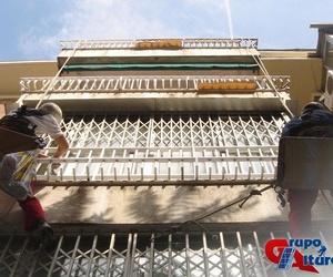 Reparación de frentes y bandejas de terrazas y cornisas