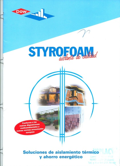 Aislamiento termico poliestireno extruido:  de Implac