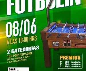 Torneo de futbolín en el bar Triple 20  (08-06-3019)