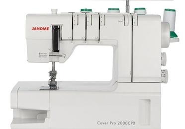 Máquina de coser recubridora Janome CoverPro 2000CPX