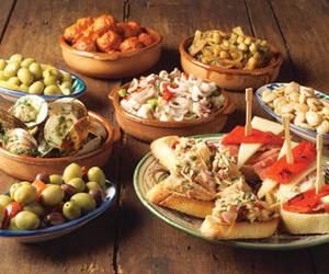 Cocina típica mallorquina.