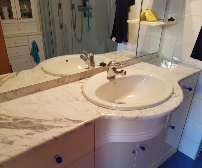 Encimera de baño: Servicios de Mármoles Gaivi