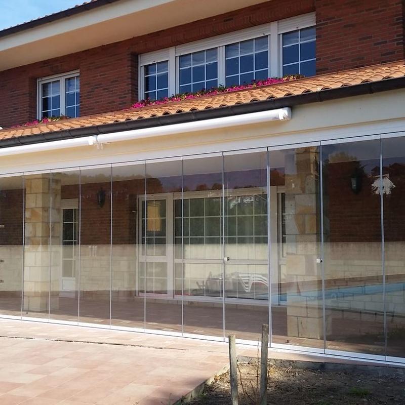 Cerramientos de cristal en Bilbao