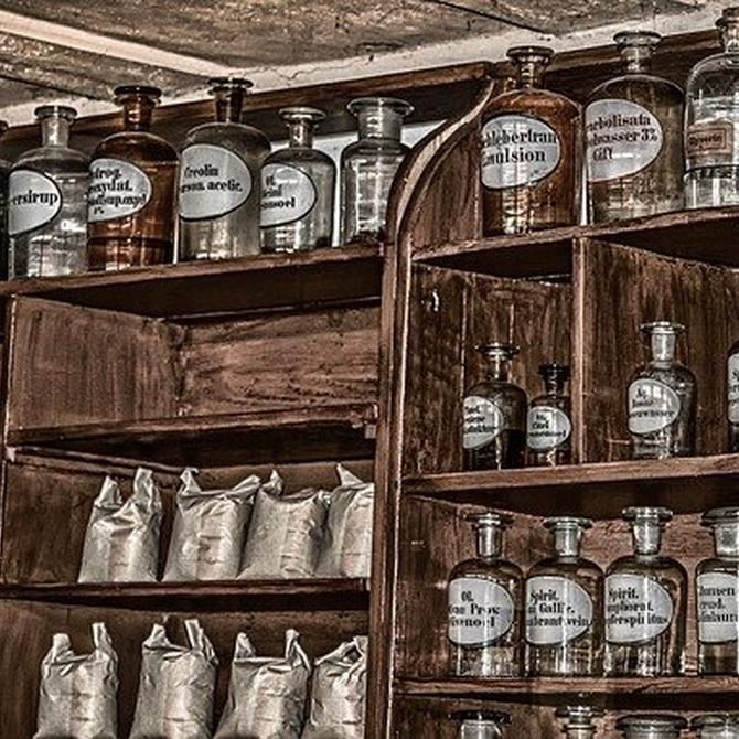 ¿Cuál fue la primera farmacia de la historia?
