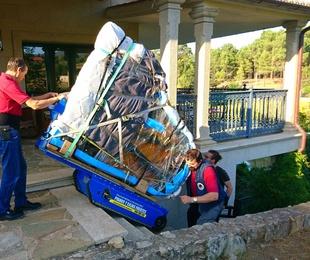 Transporte piano robot Galicia