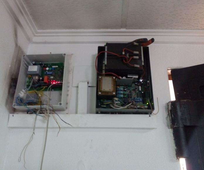 Sustitución y colocación de cuadro eléctrico de 220v