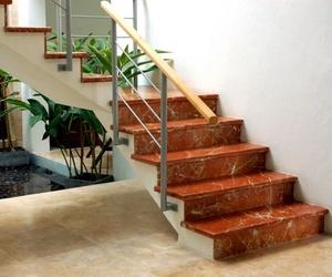Escaleras de piedra natural en Fuerteventura