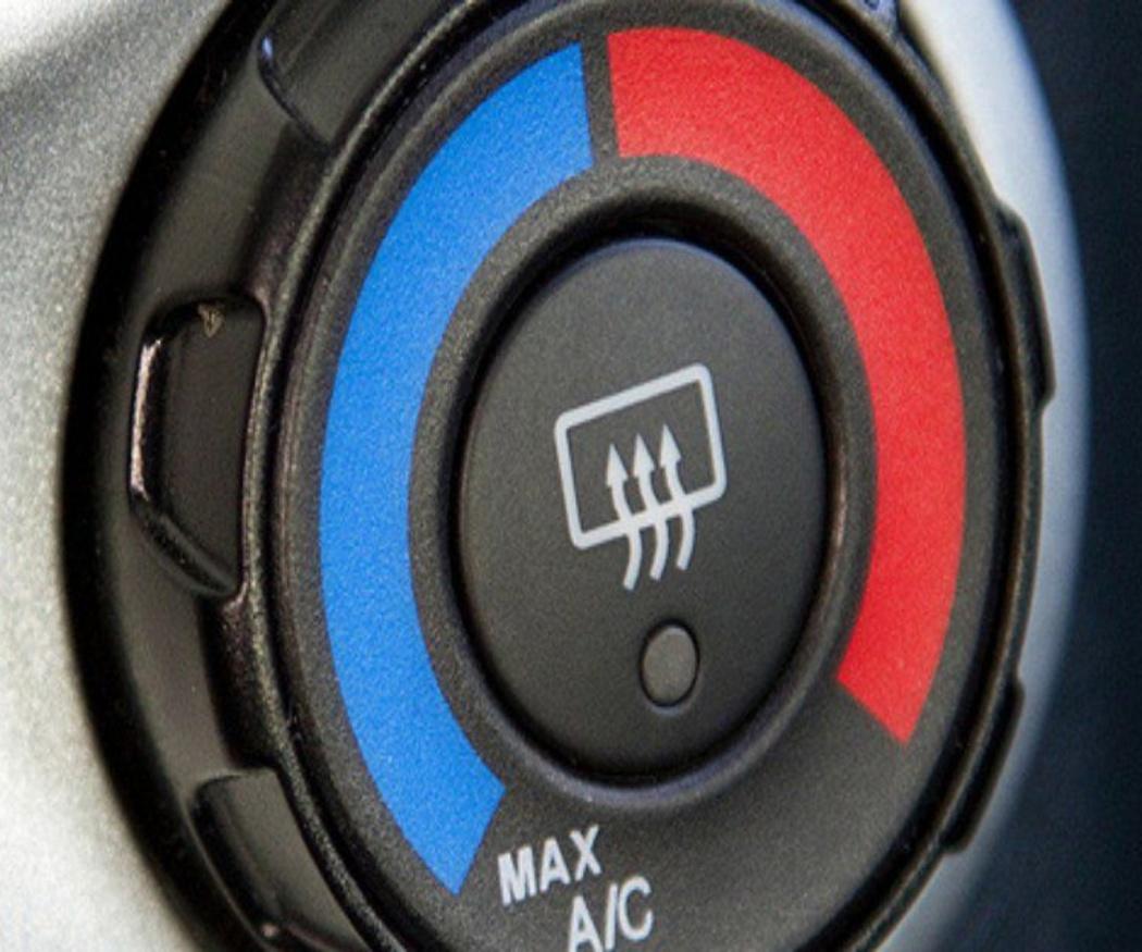 Las partes del aire acondicionado del coche