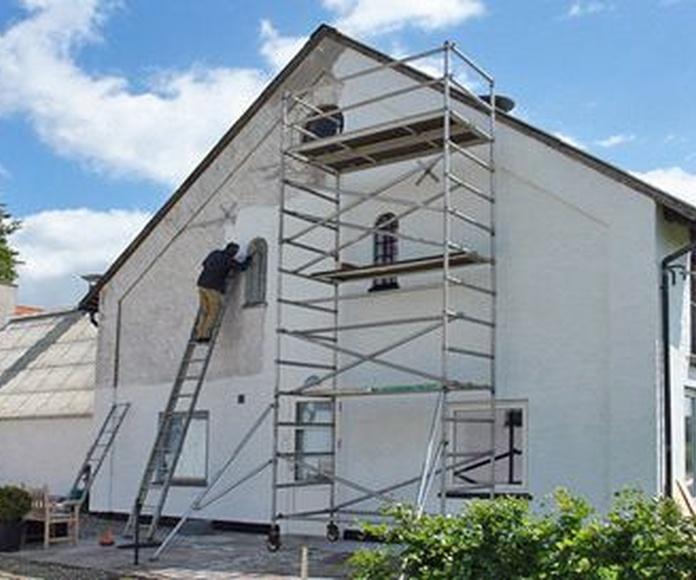 Rehabilitación de fachadas: Servicios de Seredacon