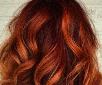 La tendencia en pelirrojos. Sonia Atanes peluqueria Alameda de Osuna.