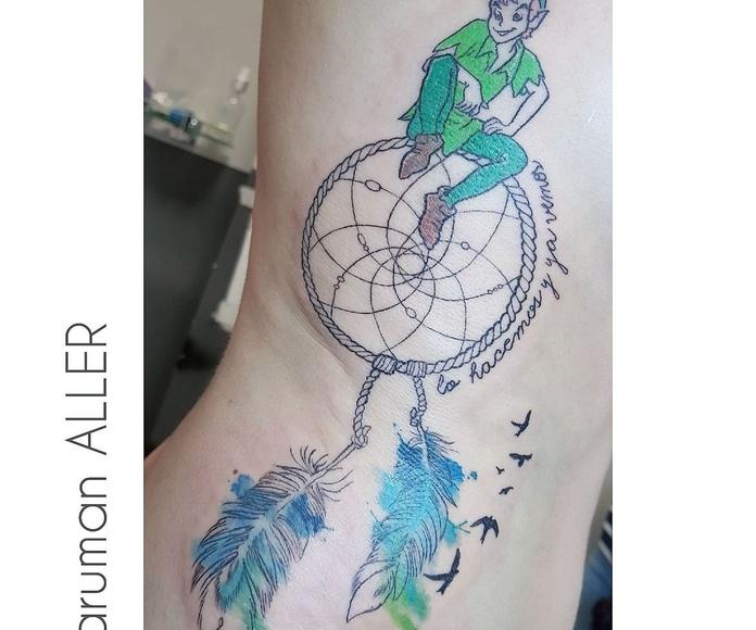 COLOR: Tatuadores especializados de Circe Tattoo