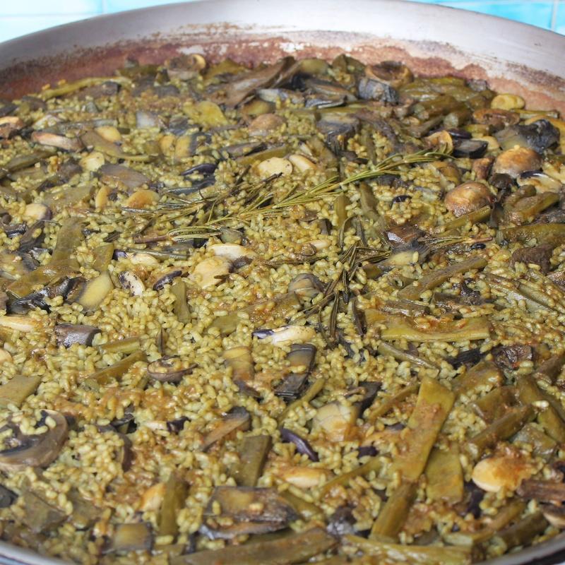 Rice dishes: A la carte menu de Casa Navarro