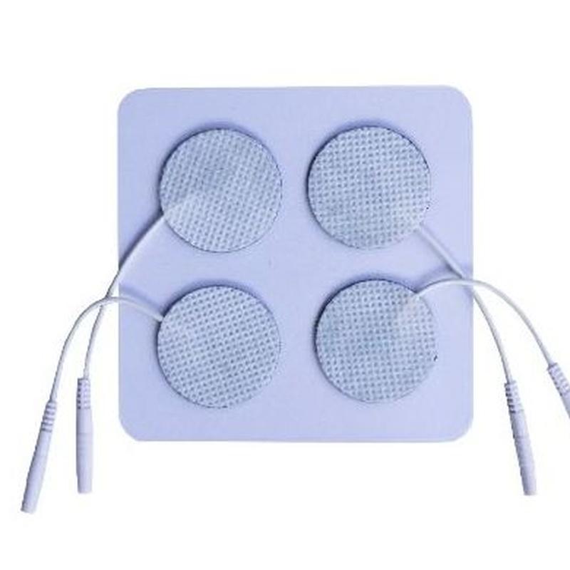 Electrodo caucho redondo   2,5cm diámetro  4und : Productos de PLUS CLINIC