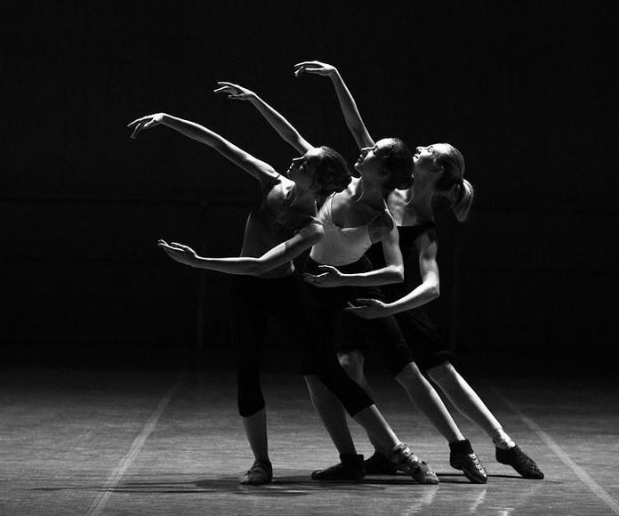 Clases de ballet para adultos en el estudio de Ballet Ana Mª Aurrecoechea