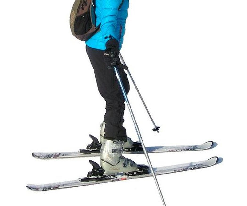 Diferencias entre esquís de travesía y de alpino