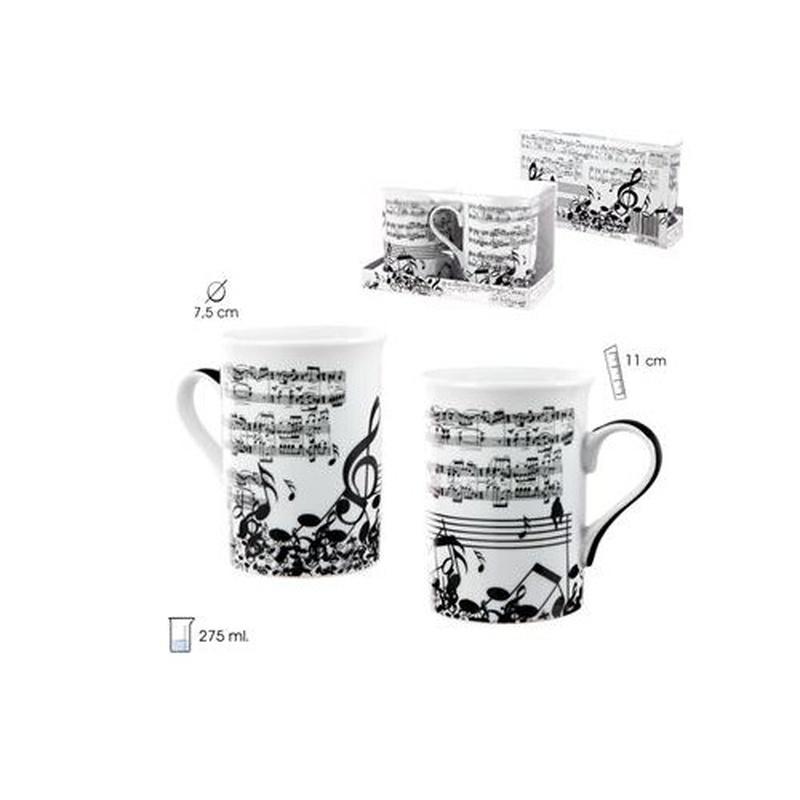 Set 2 mug música: Productos y servicios de PENTAGRAMA