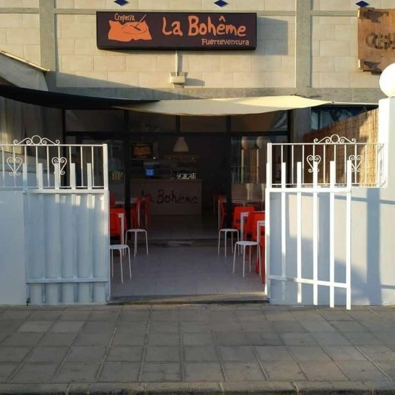 Crepería La Boheme Fuerteventura: Carta de Crepería La Bohême
