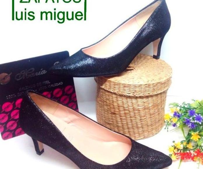 Maria Jaen salon nobuk: Catalogo de productos de Zapatos Luis Miguel
