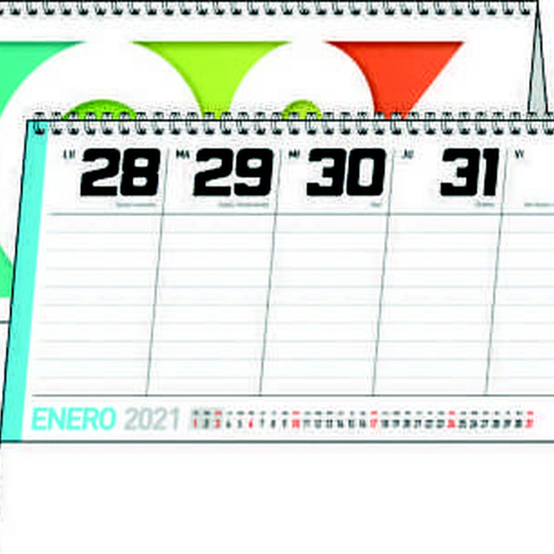 Ref. 41 - Sobremesa Semanal: Nuestros Productos de Gráficas Kalendex