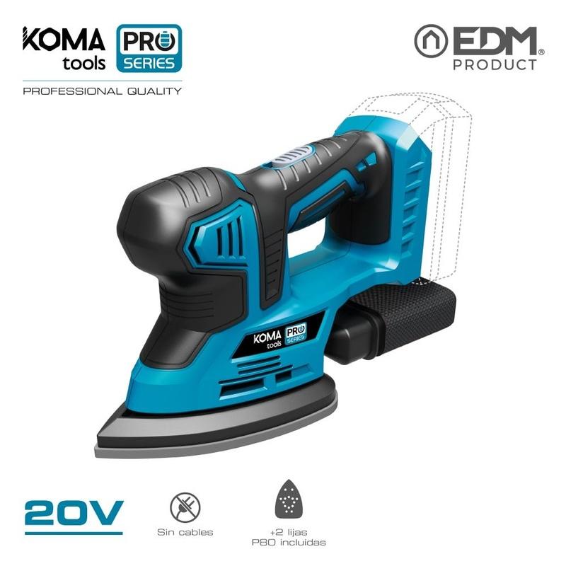 Lijadora KOMA Pro Series tools 20V: Productos de Recambios Morales