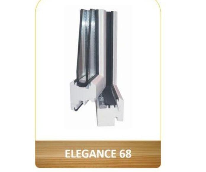 Ventana aislante en Madera Elegance 68: Productos de Carpintería Ortal