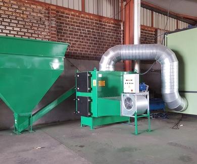 Generadores de Aire Caliente de Biomasa para Secaderos