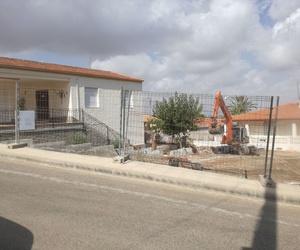 Obra de nueva construcción en El Carmolí, Cartagena. #Direccióndeejecucióndeobra #coordinadoradeseguridadysalud. Fotografía en fase de movimiento de tierras