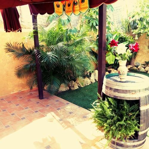 Zona exterior de nuestra residencia