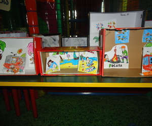 Dioramas o cuadros en cajas
