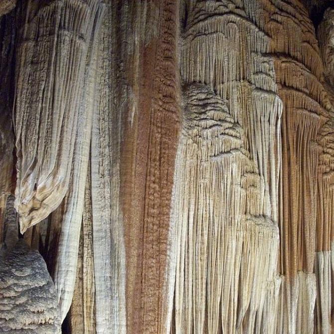 La formación geológica del mármol