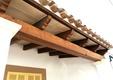 Detalle techo porche