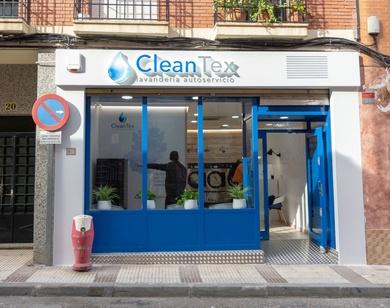 Nueva lavandería Autoservicio Instalada por seco y espuma