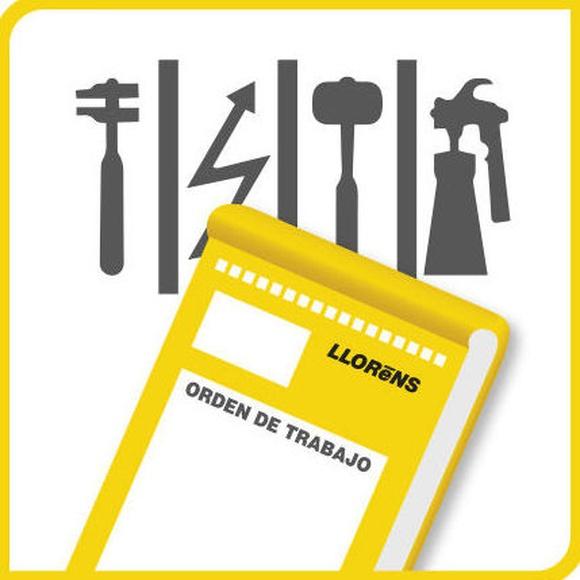 Órdenes de Trabajo: Productos y Servicios de Imprenta Llorens