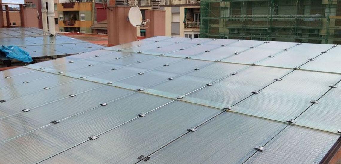 Impermeabilización de cubiertas y rehabilitación de patios de luces en Santa Coloma de Gramenet