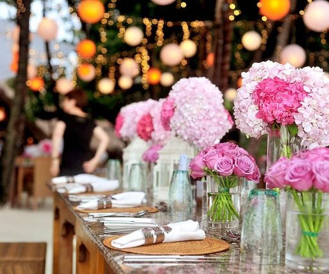 La importancia de la decoración en una boda
