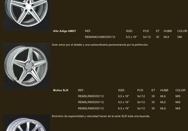 Llantas para Mercedes