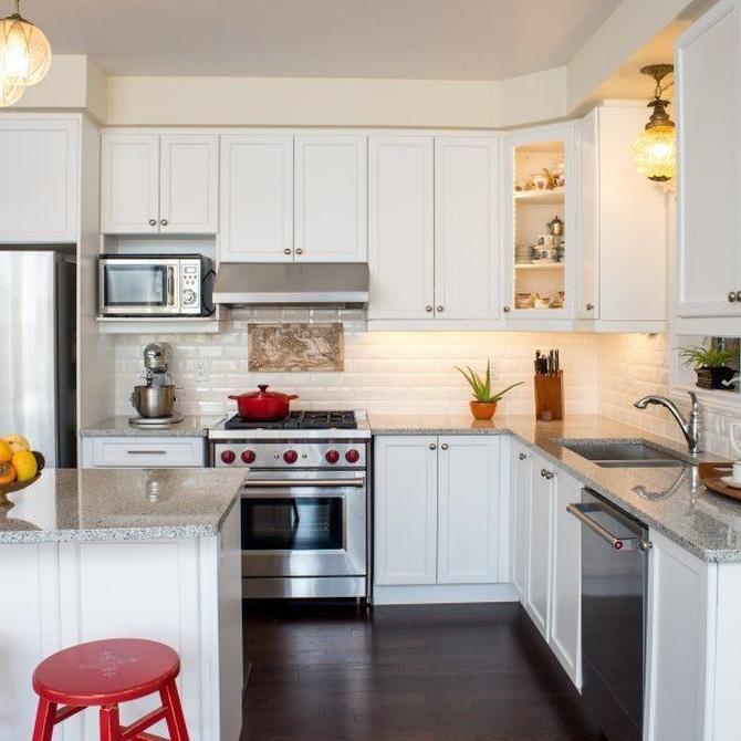 Diferentes cocinas en función del espacio disponible