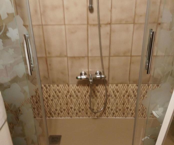 Remodelación en ducha