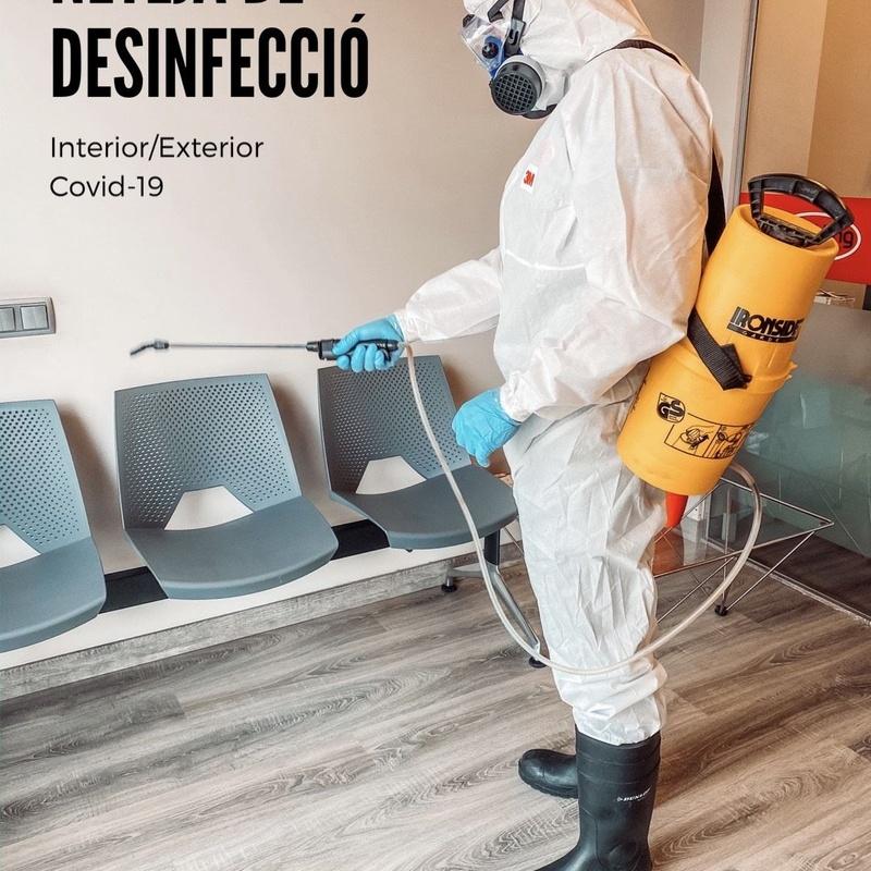 Limpieza y desinfección en áreas comunes debido al COVID-19: Servicios de Sparkling