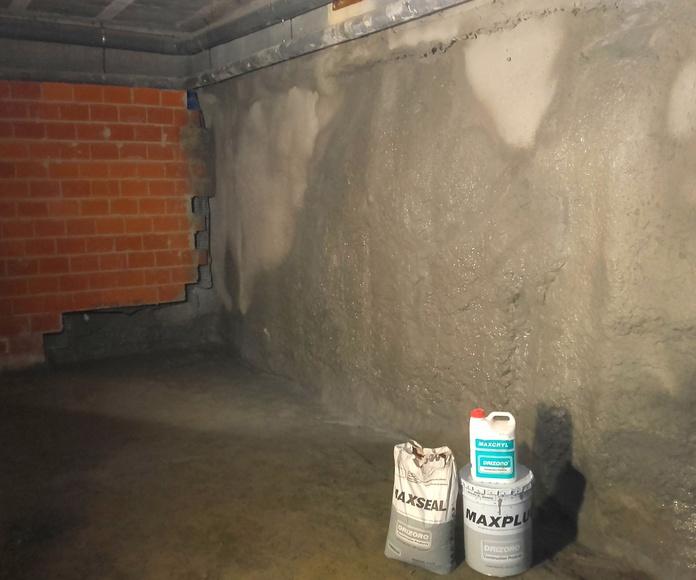 impermeabilizacion de garaje gijon