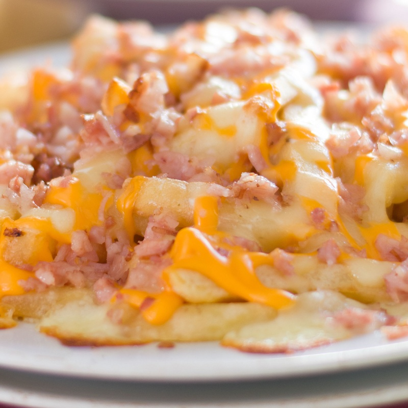 PATATAS BACON CHEESE  FRIES