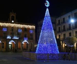 Iluminación para fiestas en Ourense