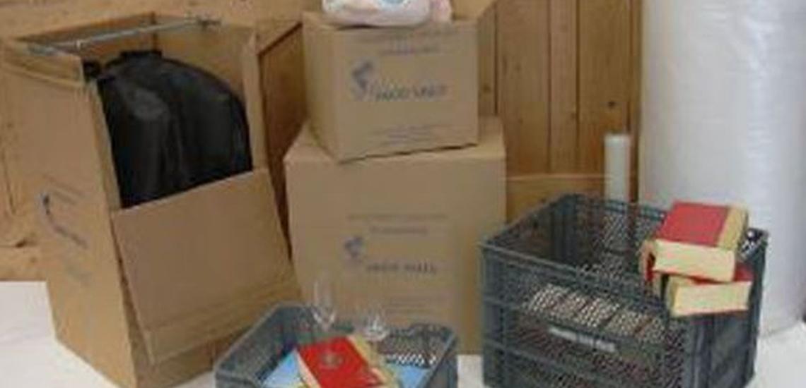 Empresas de mudanzas en Castellón que ofrecen cajas de cartón para embalaje