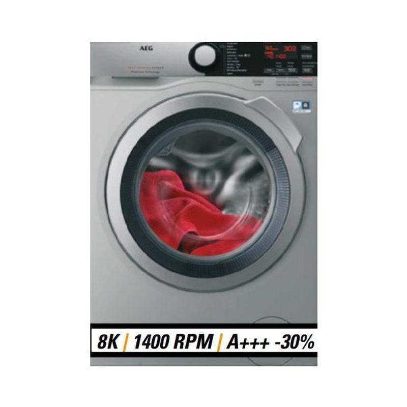 Lavadora AEG INOX L7FEE842S: Productos de Izarra Electrodomésticos en Tien 21