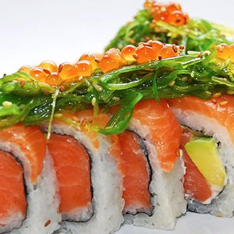 Sushi Rolls tradicionales: Carta de Fujiyama Sushi Bar & Asian Cuisine