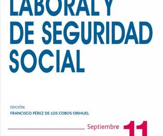 Derecho Laboral: Nuestros Servicios de Teresa Rodríguez Magdaleno - Abogada